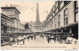 Grands Magasins du Louvre -b