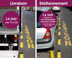 shared parking places in Paris