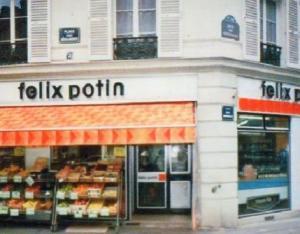 magasin  Felix Potin des annees 70